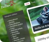 ZaDar.sk - Zážitky jsou dárky na celý život