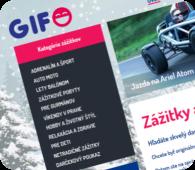GIFO - Zážitky jako dárky