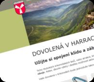 Město Harrachov - propagace Harrachov Card