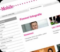 Tiskové centrum T-Mobile