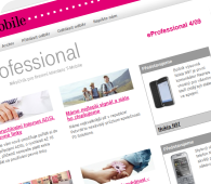 T-Mobile newsletter eProfessional